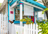 Flowers, Fences and Flags of Key West